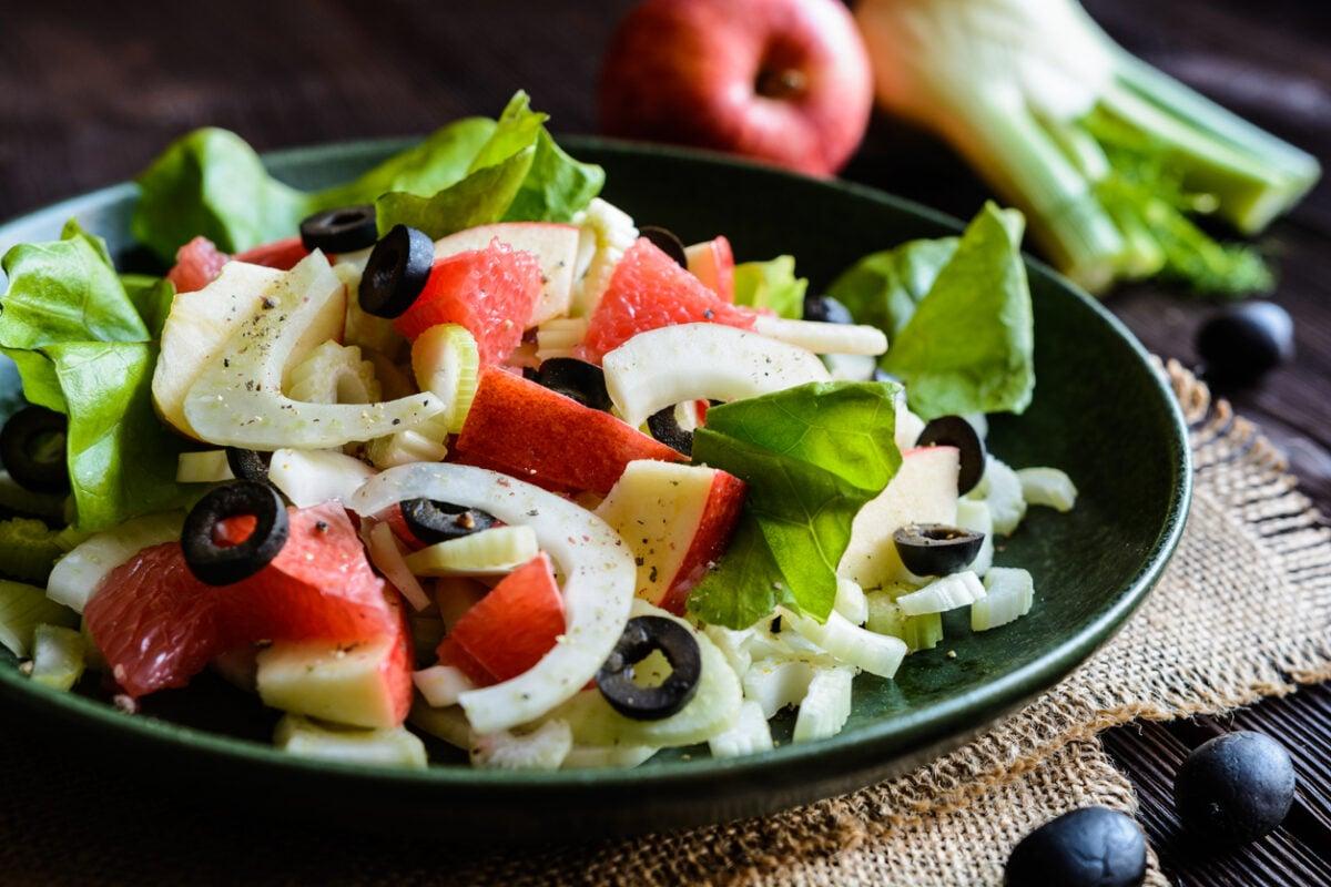 Ricetta insalata al pompelmo