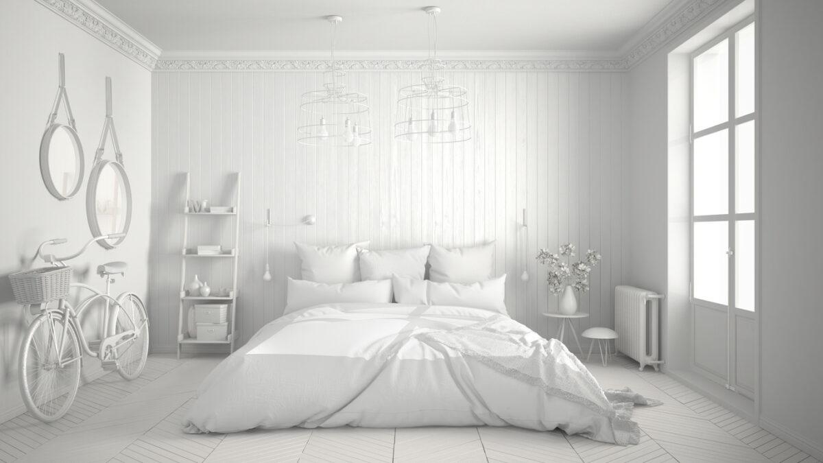 Total white casa: i punti di forza dell'arredamento bianco