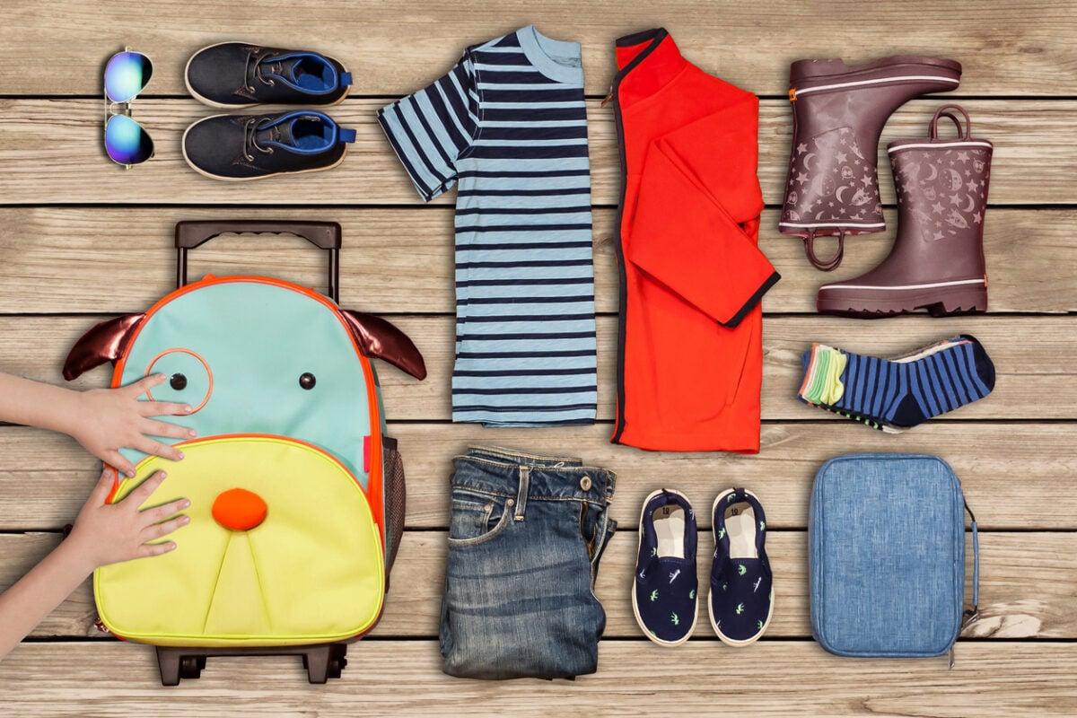 Vestiti per bimbi in viaggio
