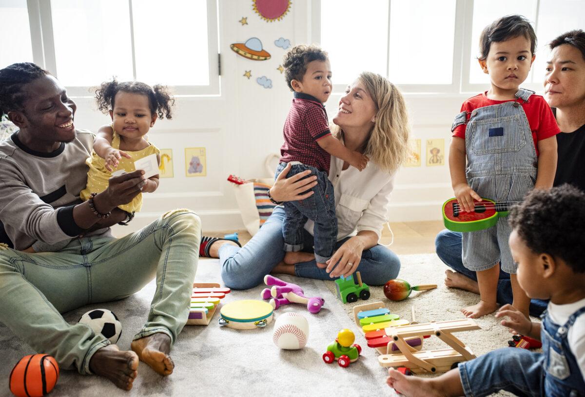 Bimbi all'asilo: come gestire il distacco dalla mamma