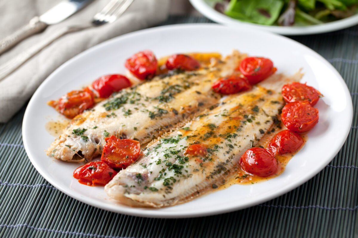 Ricetta light: pesce in umido con pomodorini