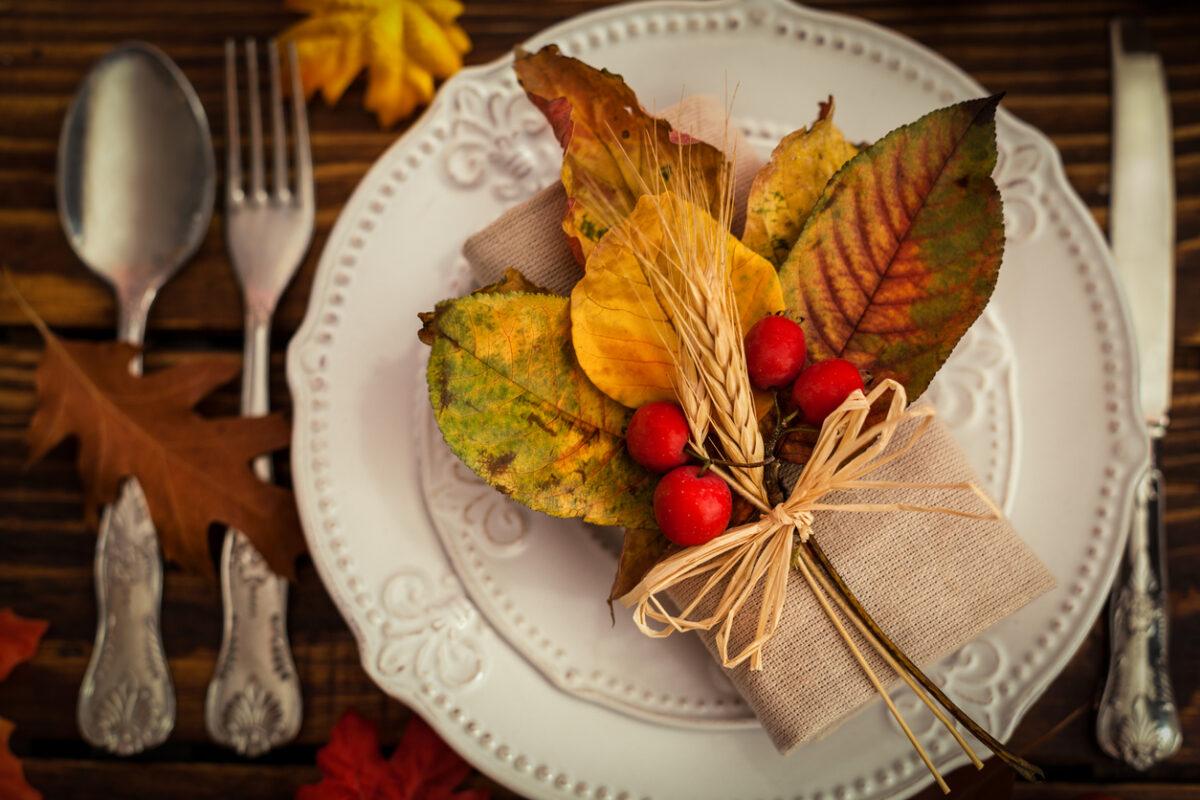 Tempo d'autunno: come apparecchiare la tavola