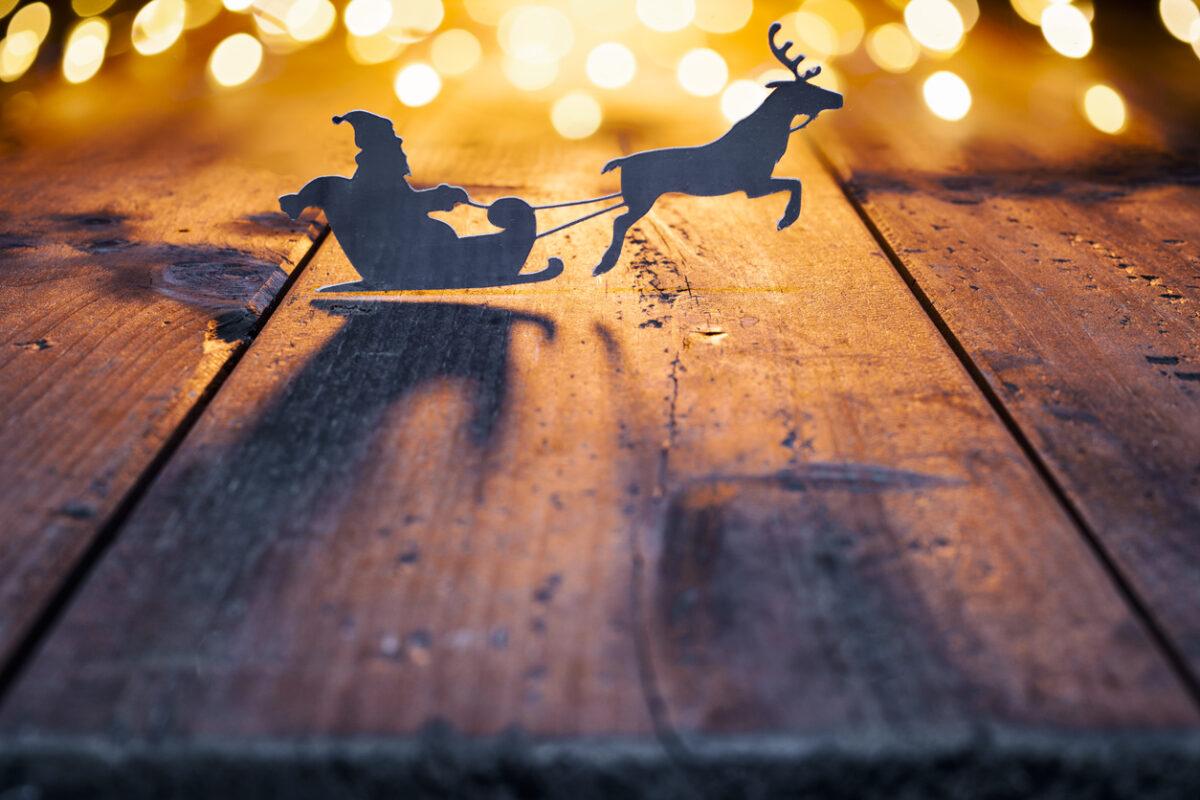 Slitta Babbo Natale fai da te: come realizzarla