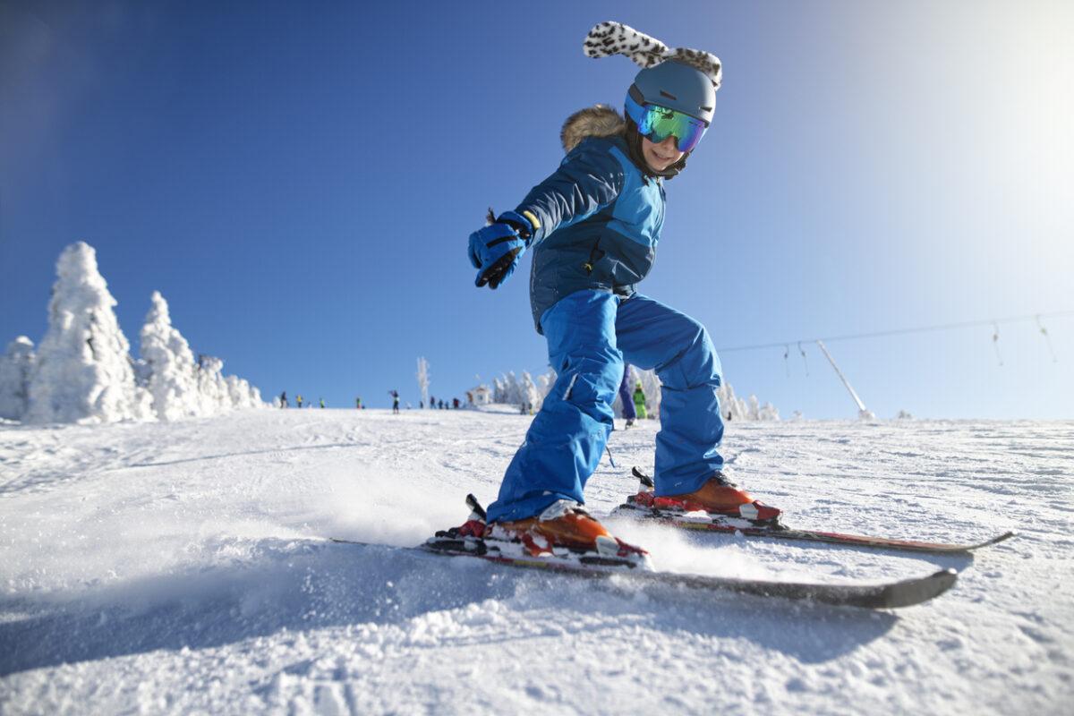 Prima volta dei bambini sugli sci, come comportarsi