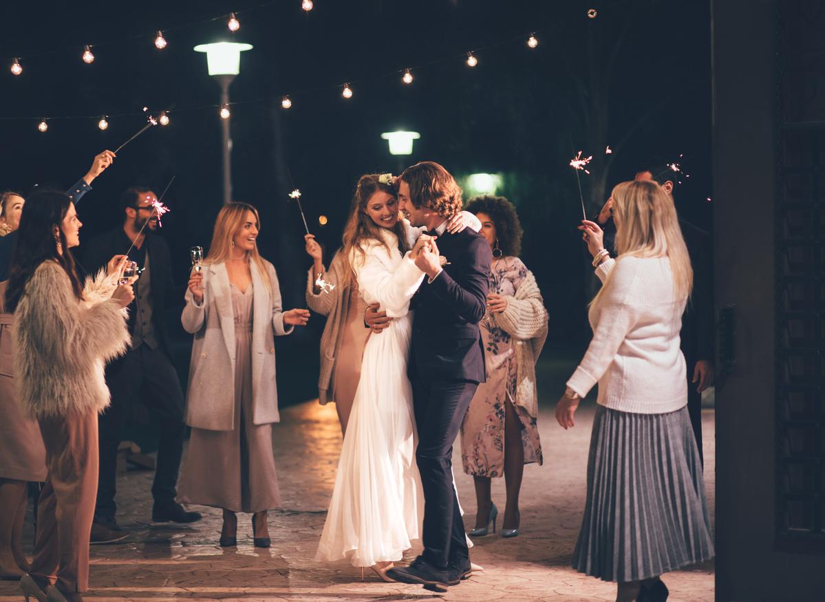 Come vestirsi a un matrimonio d'inverno