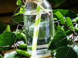 Acqua aromatizzata con betulla