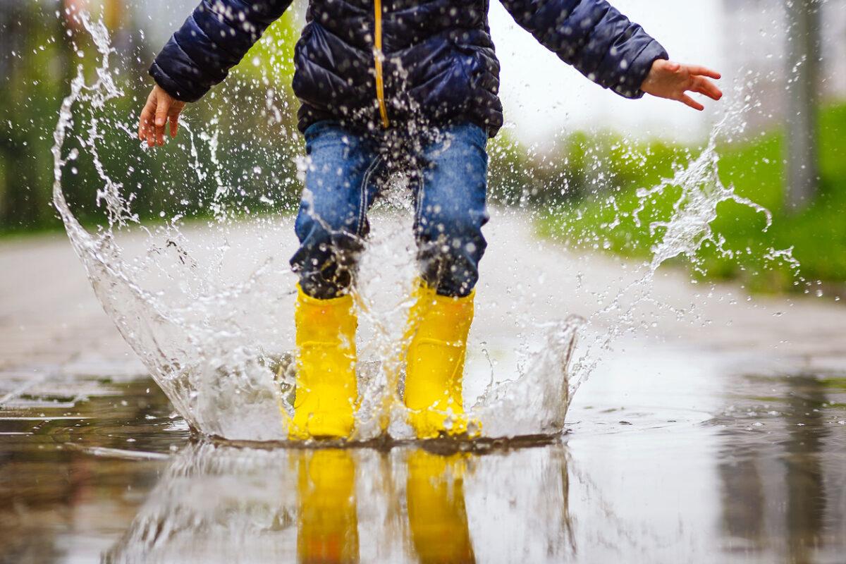 Stivali antipioggia pieghevoli per bambini: quanto convengono?