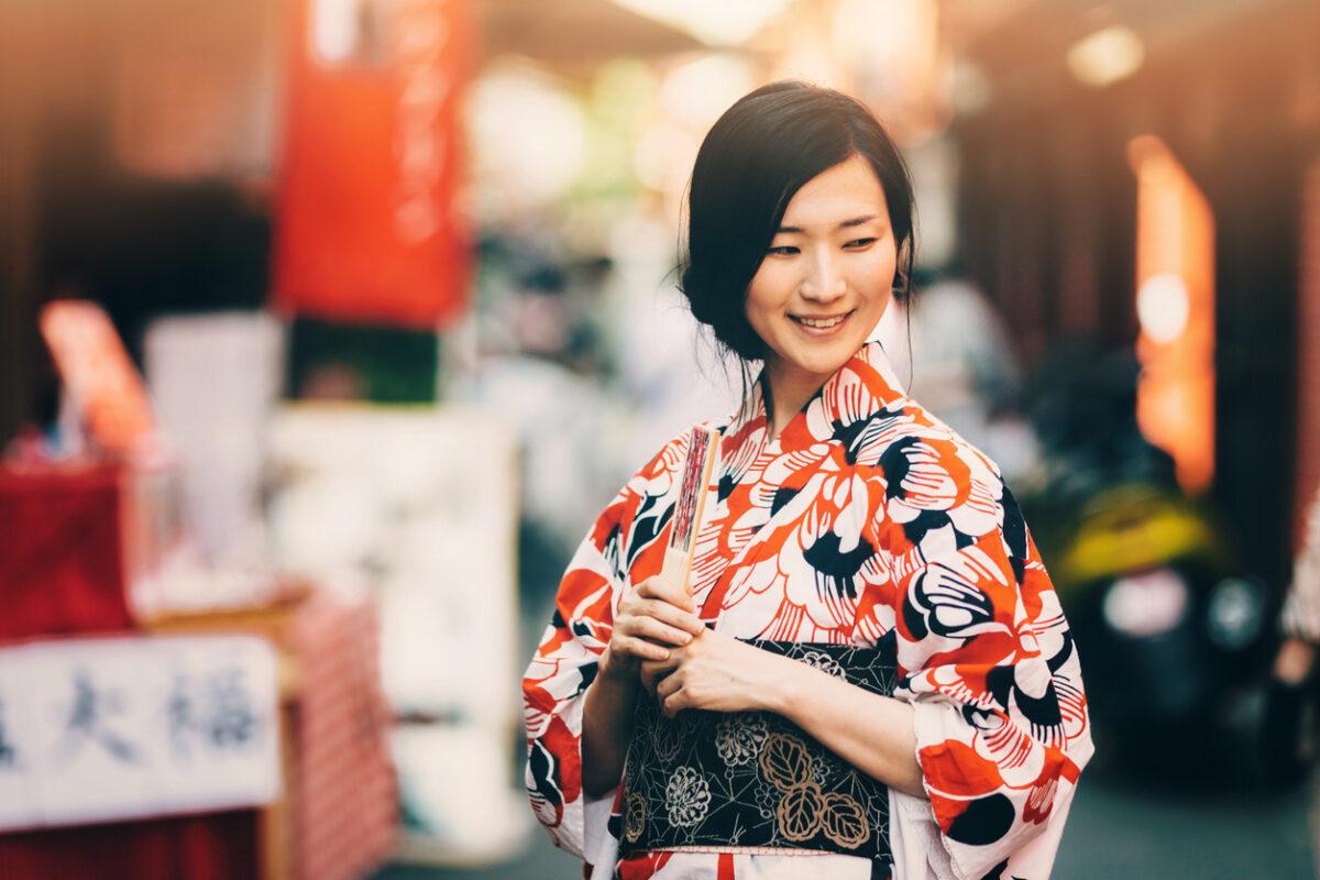 Trucco tradizionale giapponese