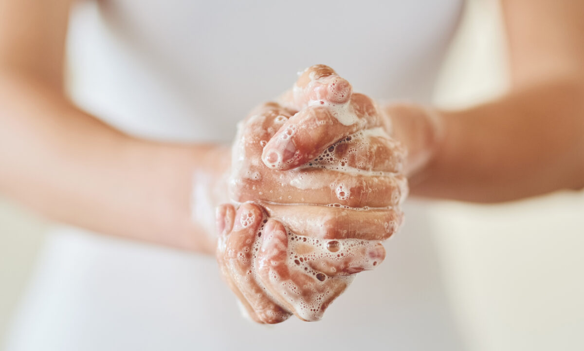 Come igienizzare le mani