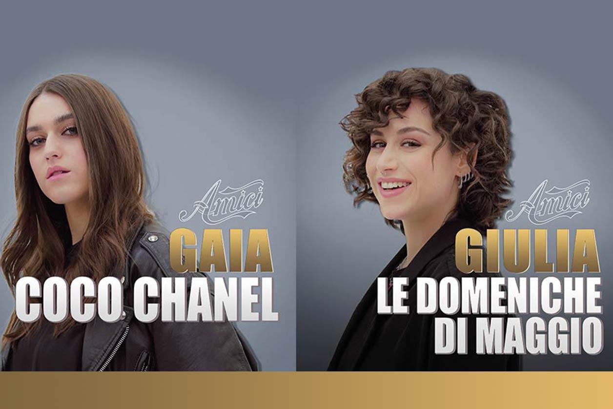 Gaia Gozzi o Giulia? Ascoltate il loro inedito e votate!