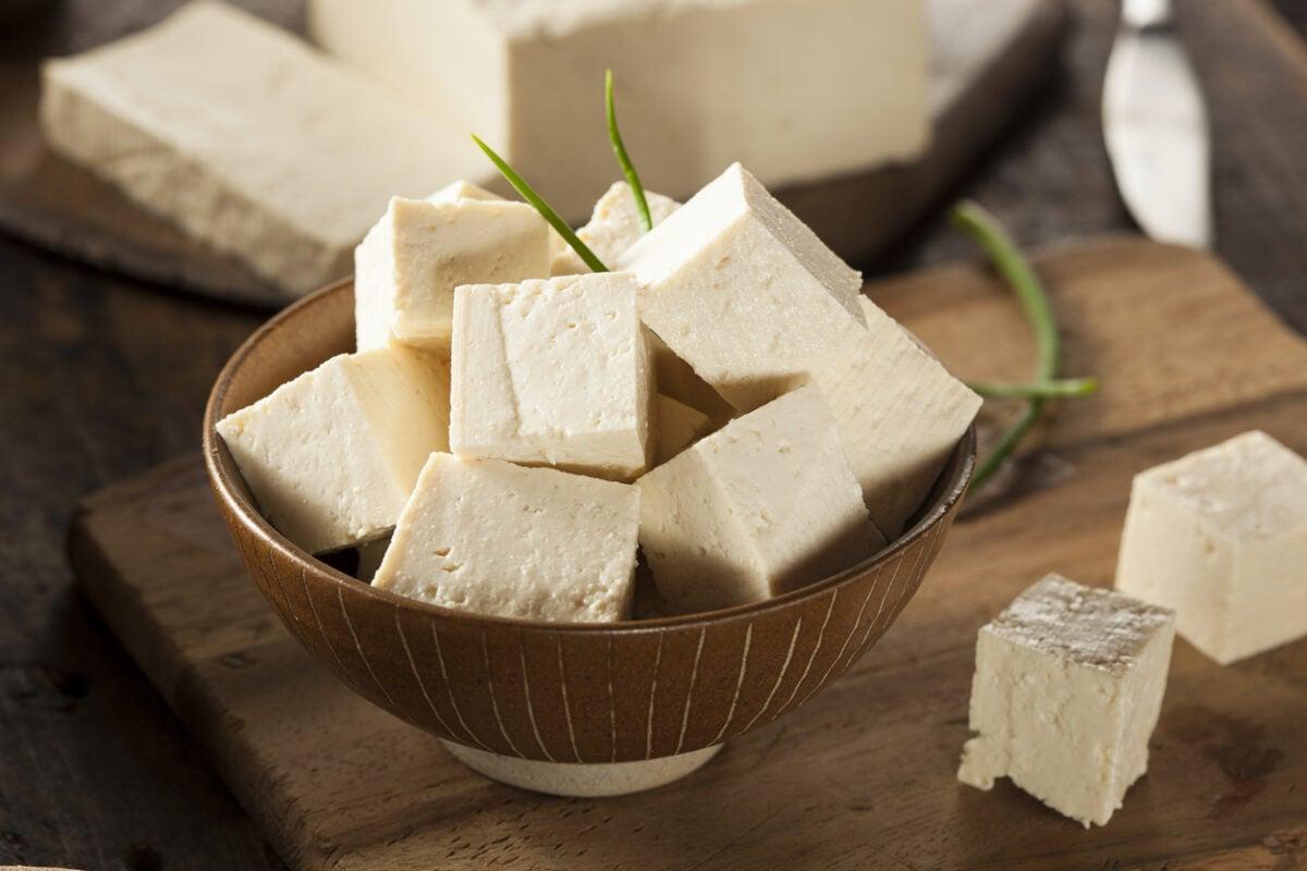 Tofu fatto in casa: ricetta con il Bimby
