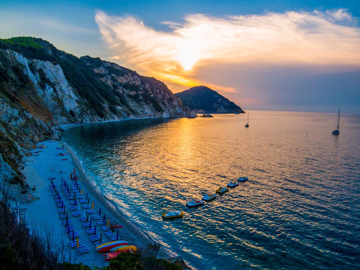 Le spiagge piu belle dell'Elba