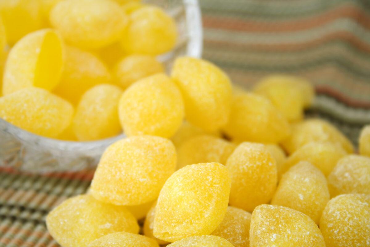 Ricetta caramelle al limone fatte in casa