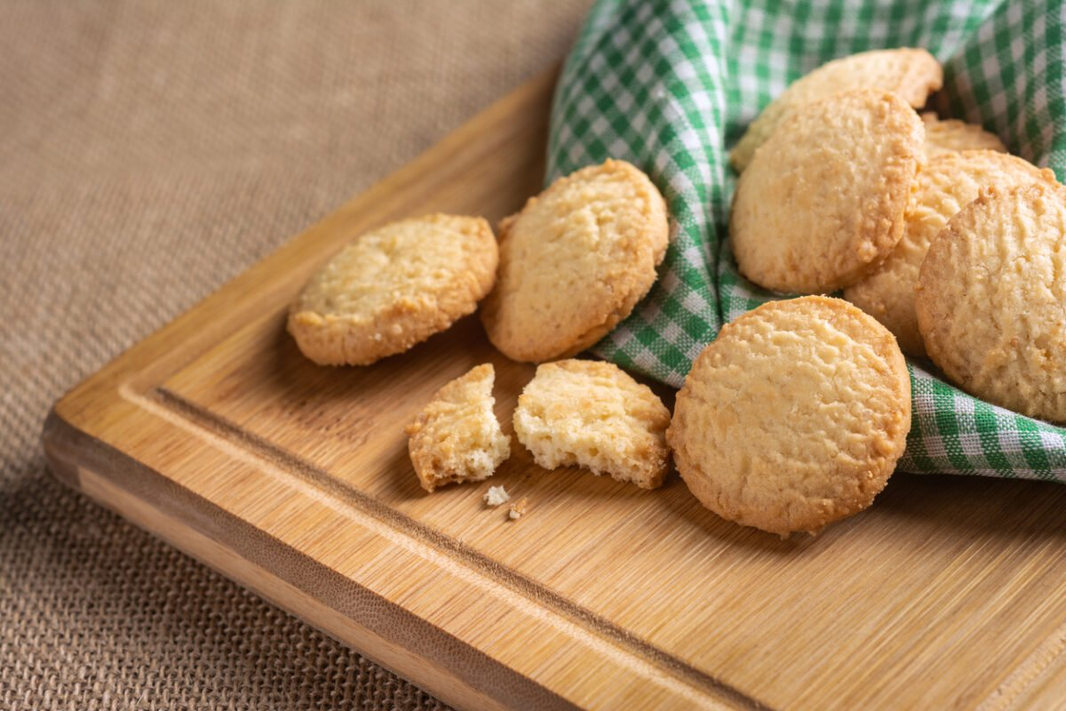 Biscotti con farina di avena senza zucchero