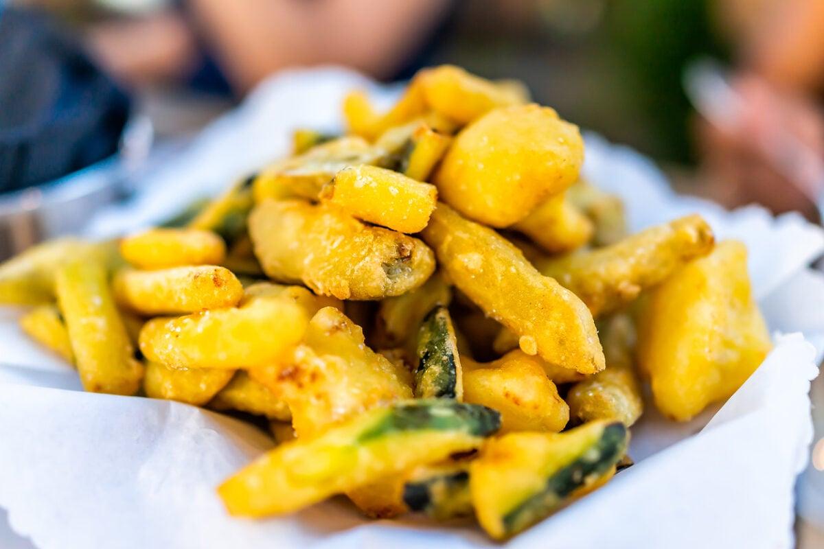 Chips di zucchine al forno light senza farina