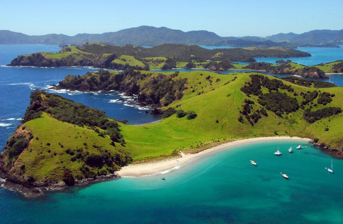 Isole Chatham destinazione del mondo più lontano dall'Italia