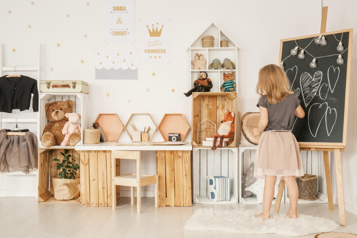 Stile nordico bambini l'abbigliamento di tendenza per l'inverno