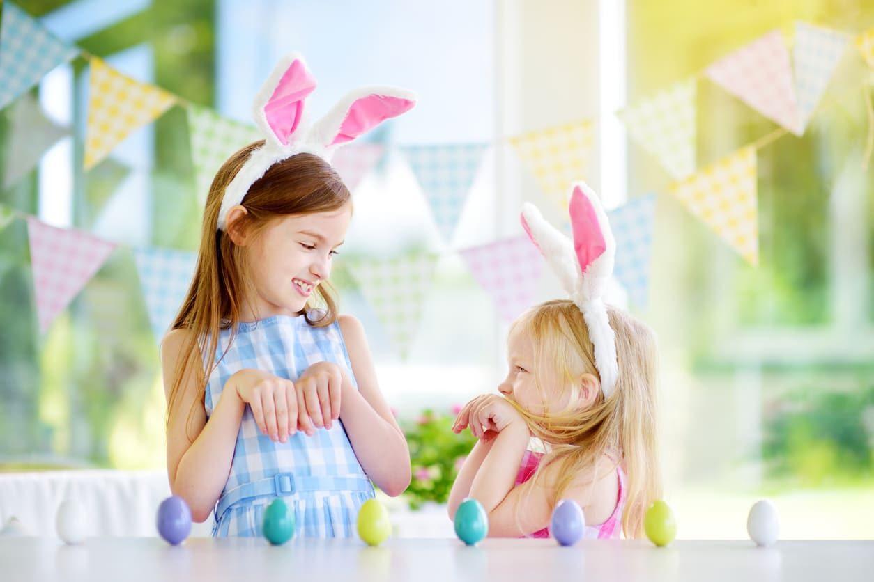 Come organizzare la caccia alle uova di Pasqua in casa