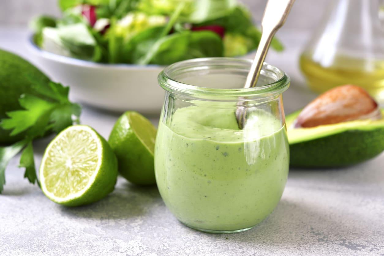 Salsa avocado per pesce