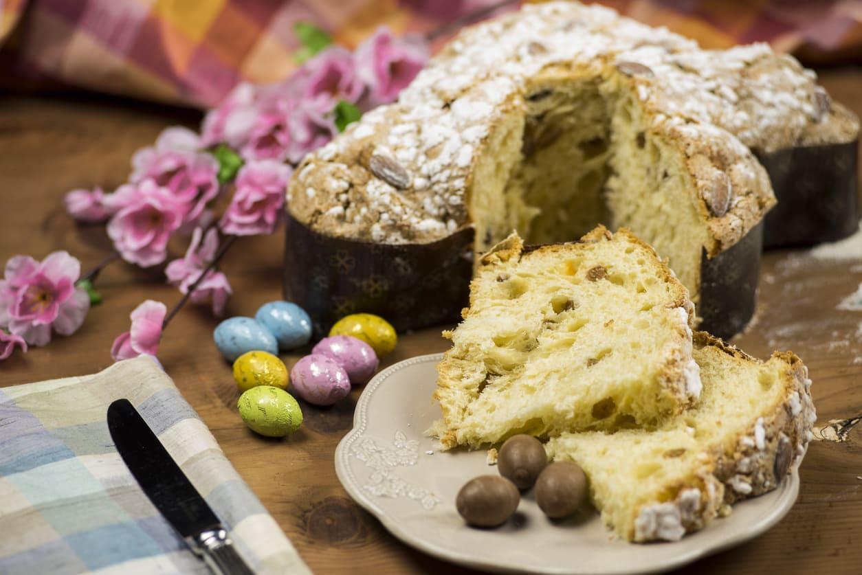 Colomba di Pasqua al pistacchio