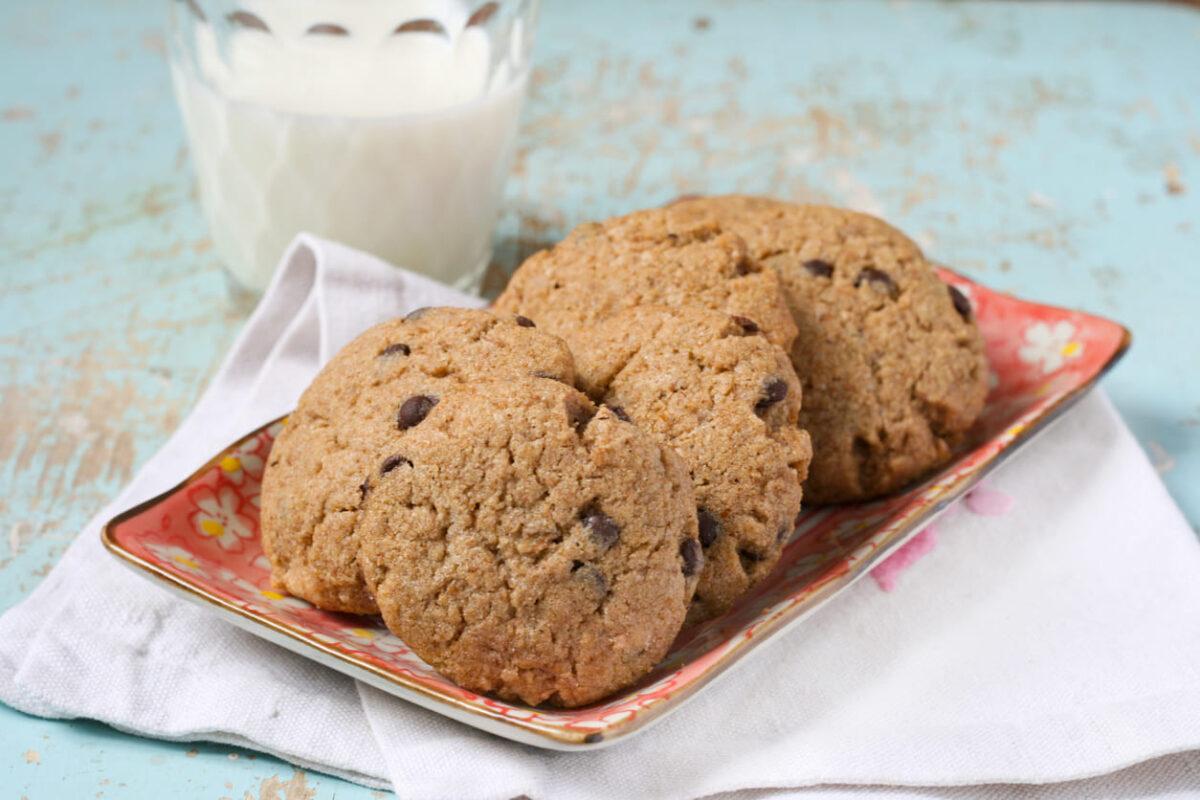 Biscotti con farina di grano saraceno senza zucchero