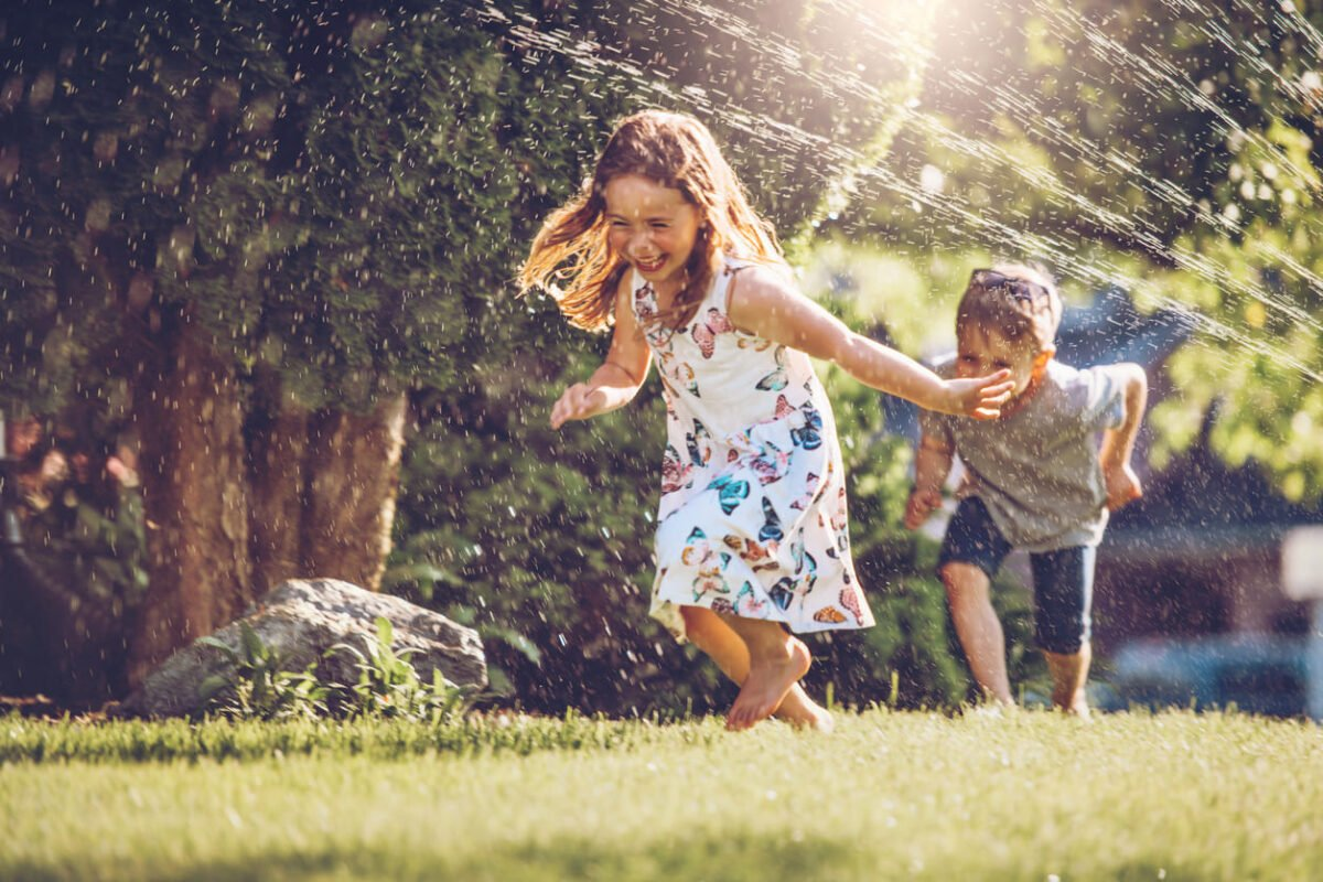 Giochi estivi con l'acqua