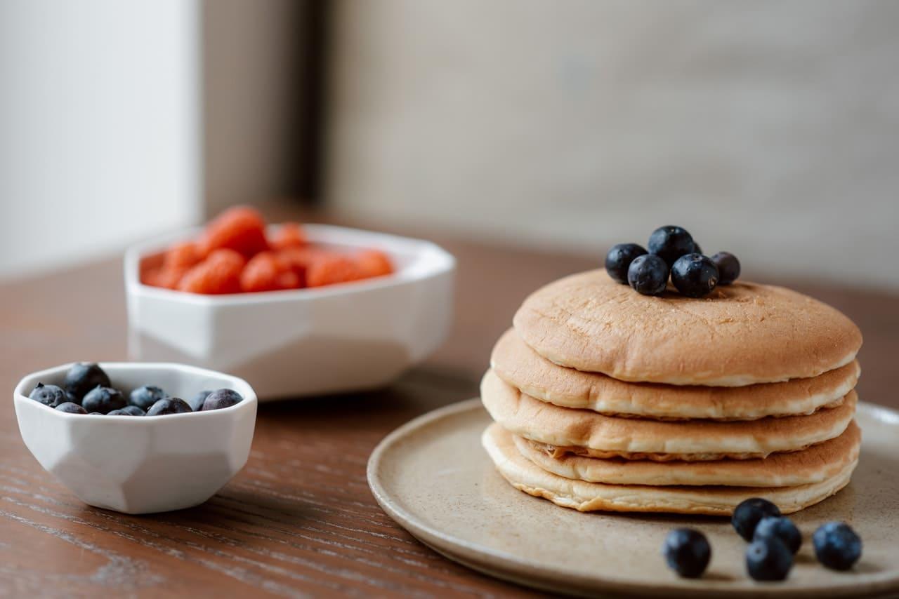 Pancake light con yogurt greco senza uova
