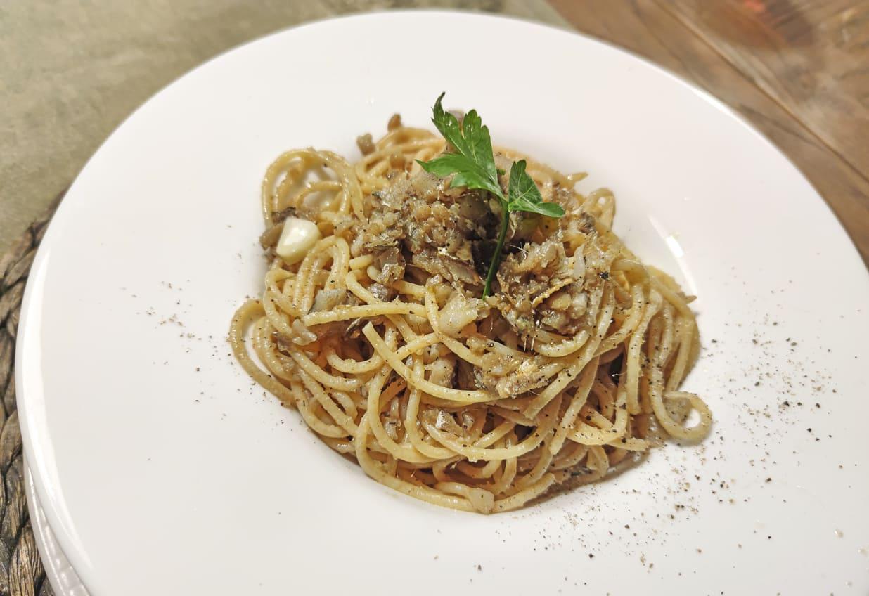 Spaghetti alla San Gennaro