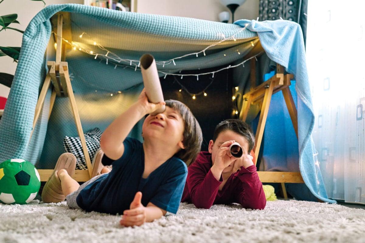 Come fare una tenda gioco per bambini