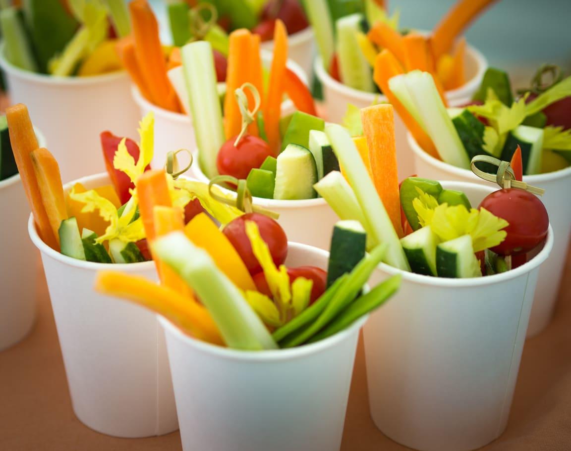 Pinzimonio: ricette con verdure e salse di accompagnamento