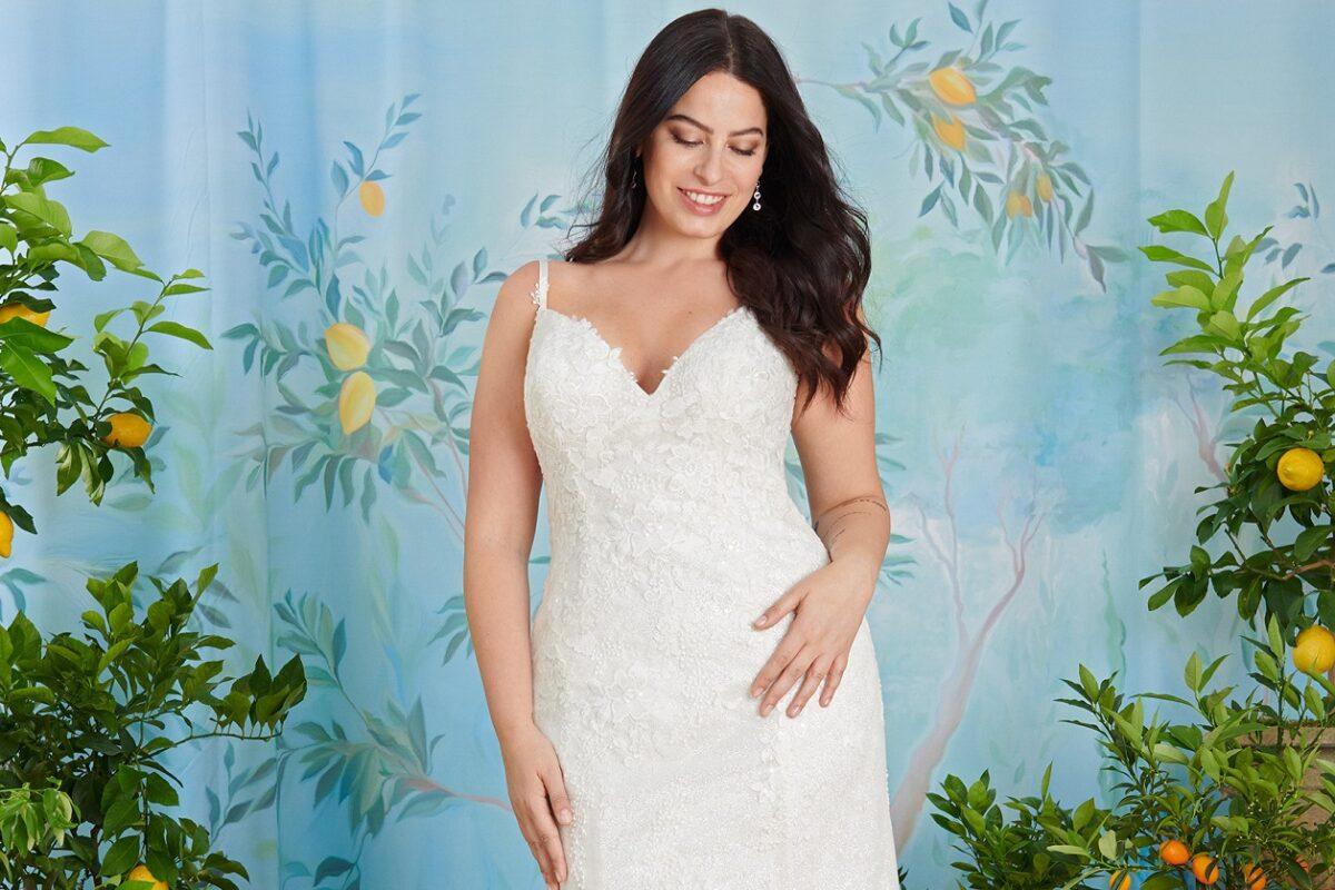 abito da sposa perfetto per la donna curvy