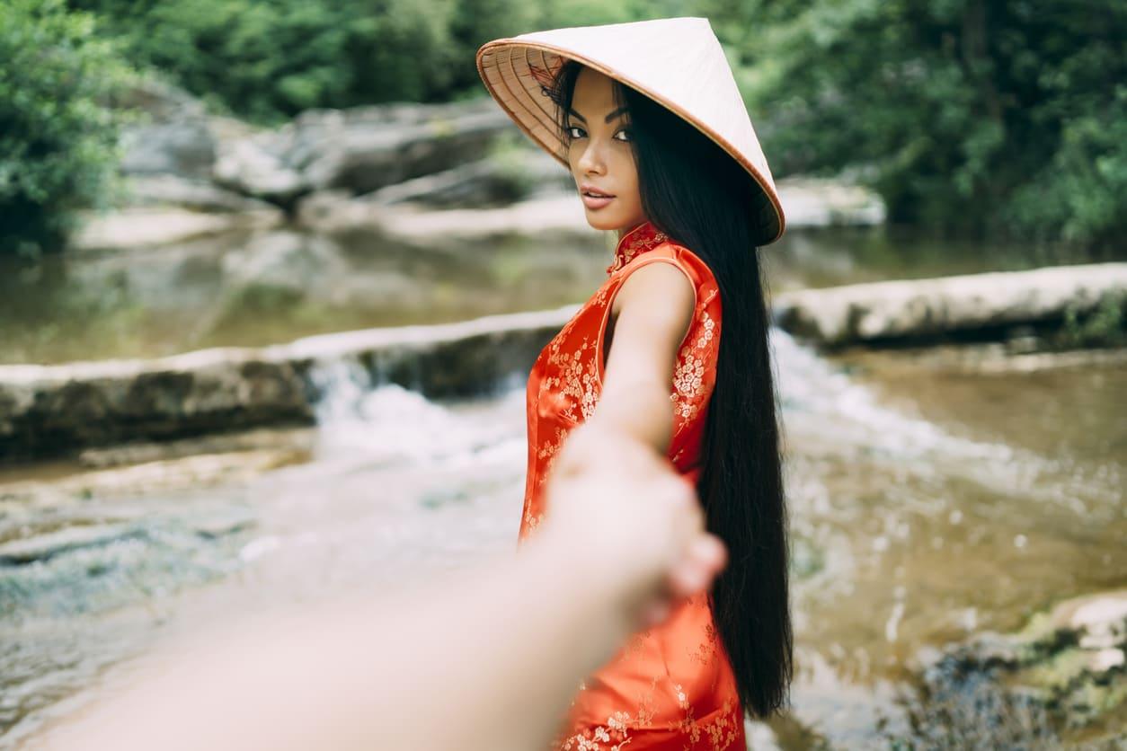 Qipao abito tradizionale cinese