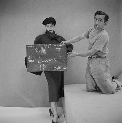 Henry Clarke, 1951, collezione Lanvin, modella Bettina ©Henry Clarke/Galliera