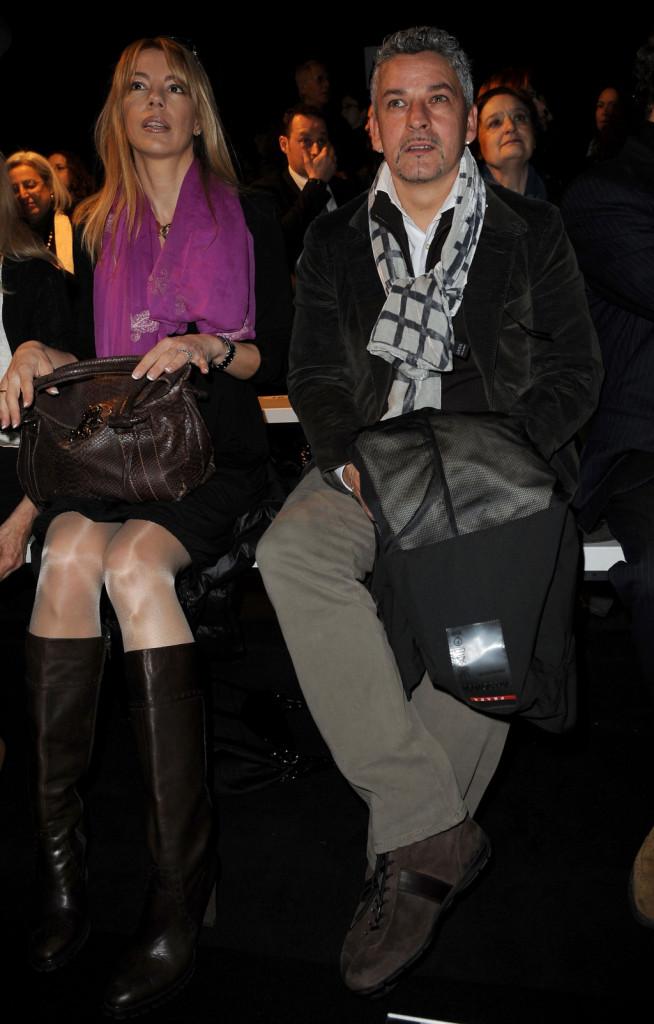 Roberto Baggio e la moglie Andreina Fabbi: i due quest'anno festeggiano le nozze d'argento