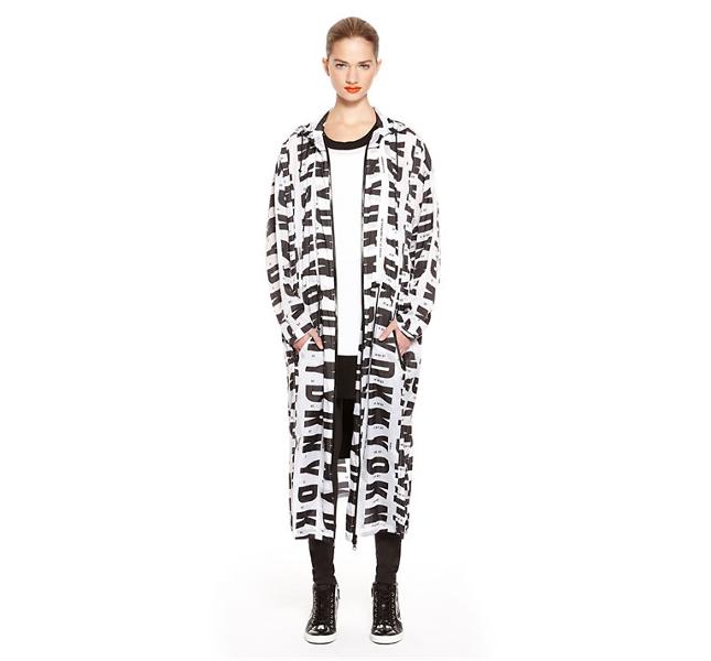 DKNY: coat fantasia / spring 2014