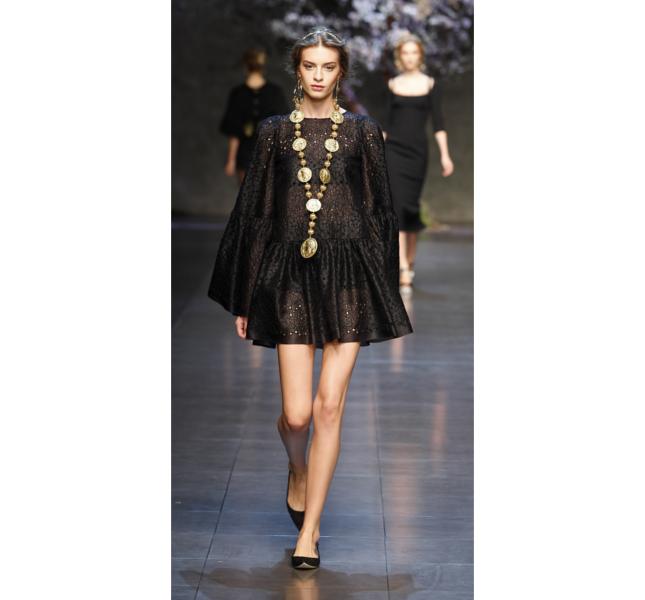 Dolce e Gabbana ss 2014 - Abito in pizzo