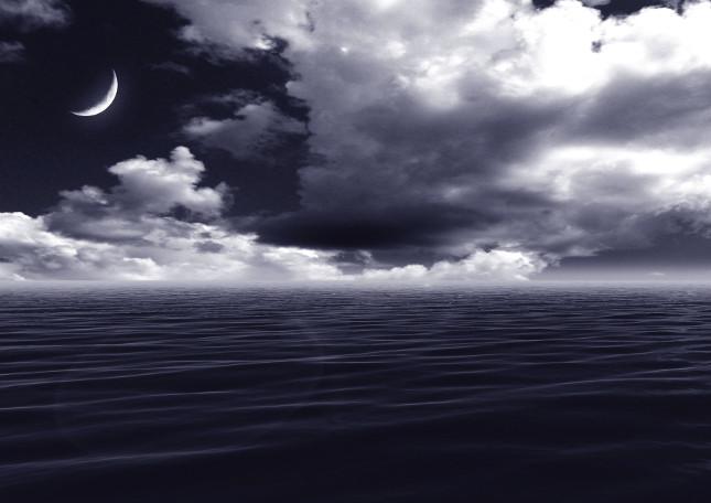 La luna ha un influenza su alcuni fenomeni naturali come le maree